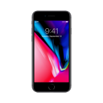 iphone8front – black